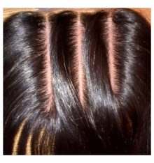 3-Way Part Lace Closure 4x4