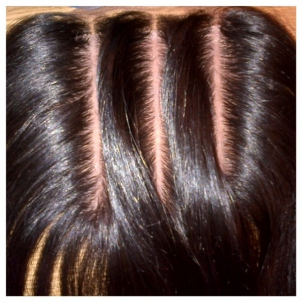 sew in weave with full closure short hairstyle 2013